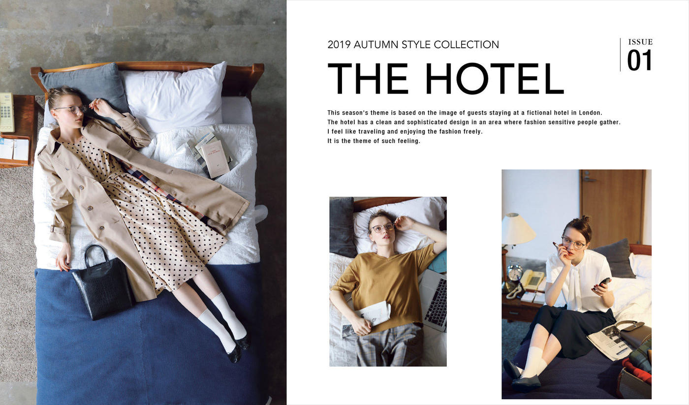 2019 AUTUMN STYLE COLLECTIONTHE HOTEL