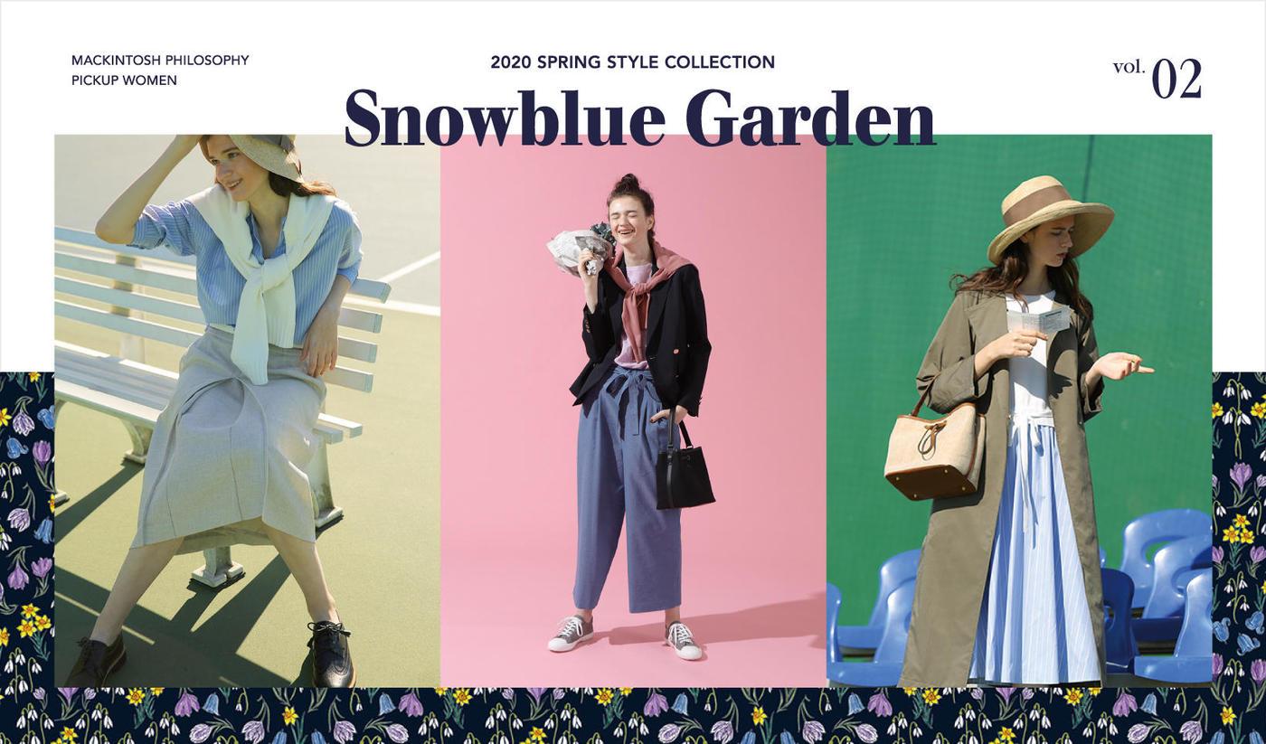 2020 SPRING STYLE COLLECTIONSnowblue Garden vol.2