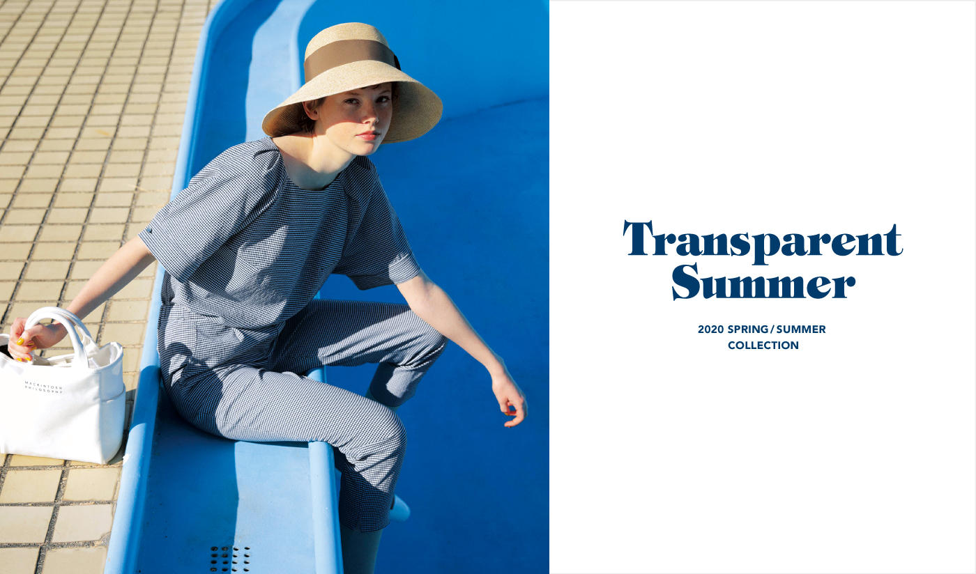 2020 SPRING / SUMMER COLLECTIONTransparent Summer