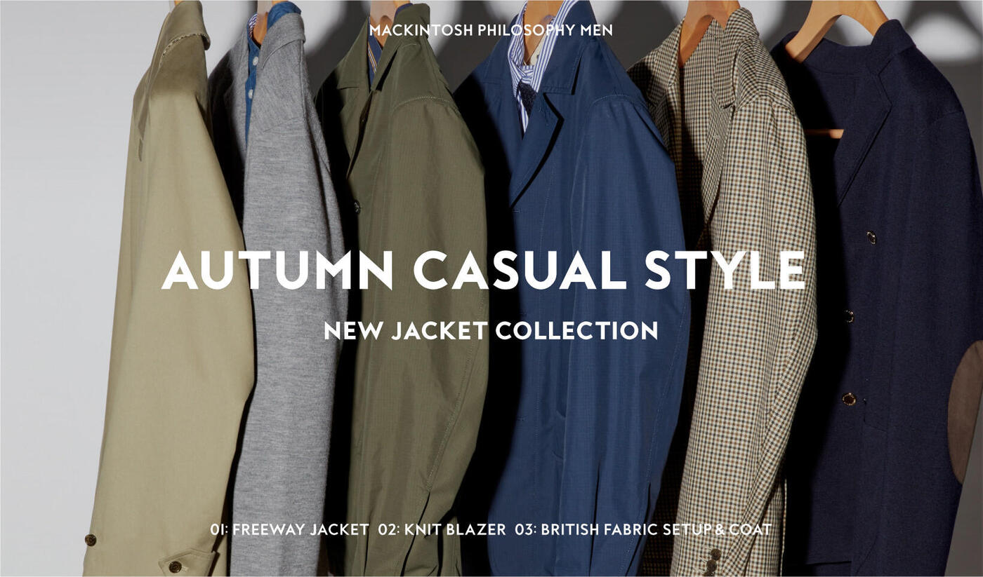 AUTUMN CASUAL STYLENEW JACKET COLLECTION