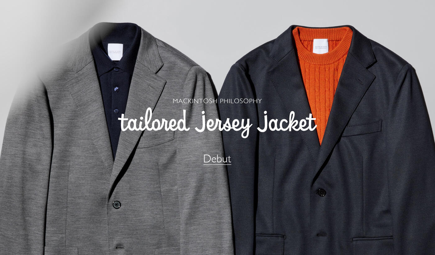 Tailored Jersey Jacket Debut