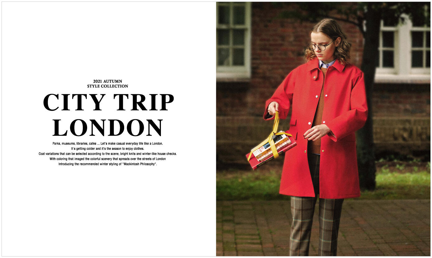 2021 AUTUMN STYLE COLLECTION<br>CITY TRIP LONDON